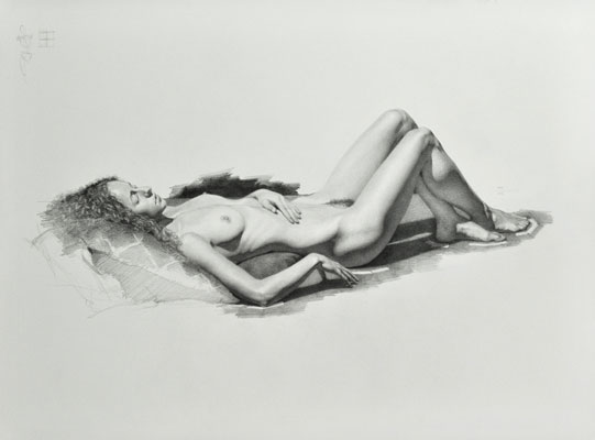 Brittany Reclining Nude