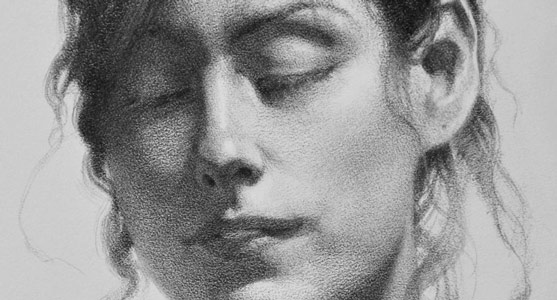 Drawing of Therese - Detail