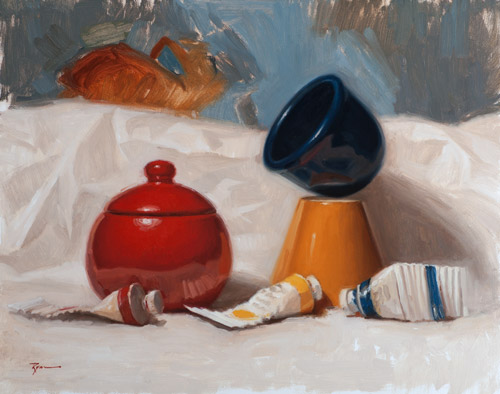Red Yellow Blue Still Life